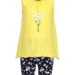Blue Seven - 2-delige meisjes set - geel - shirt & korte broek - Eileen4Kids