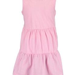 Blue Seven - jurk - roze - Eileen4Kids