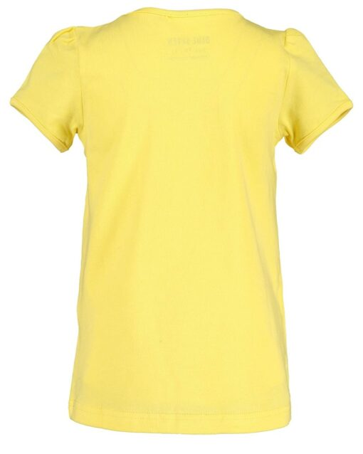 Blue Seven - meisjes t-shirt - geel - Eileen4Kids