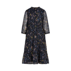 Creamie - jurk - 3/4 mouw - blauw - Eileen4Kids
