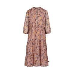 Creamie - jurk 34 mouw - roze - Eileen4Kids