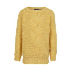 Creamie - pullover - geel - Eileen4Kids