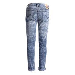 Blue Barn Jeans - Semi bleach bloemenprint - skinny fit meisjes denim - Eileen4Kids