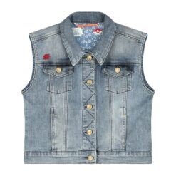 Blue Barn Jeans - spijkerjasje - mouwloos - tasogare wash - Eileen4Kids
