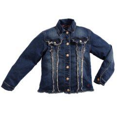 Blue Barn Jeans - spijkerjasje - vintage - donkere wassing (v) - Eileen4Kids