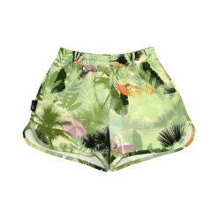 HEBE - korte broek - palmen - groen - Eileen4Kids