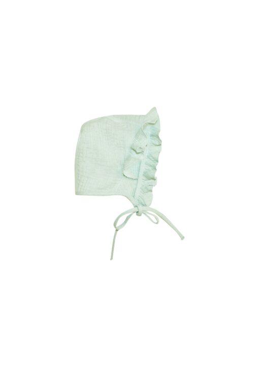 HEBE - newborn muts - mint muslin - Eileen4Kids