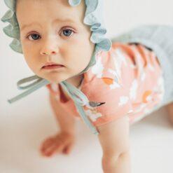 HEBE - newborn muts - mousseline mint