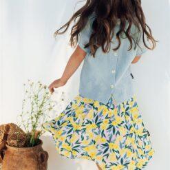 HEBE - rok - bloemenprint - Eileen4Kids