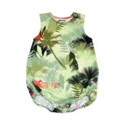 HEBE - romper - palm print - groen - Eileen4Kids