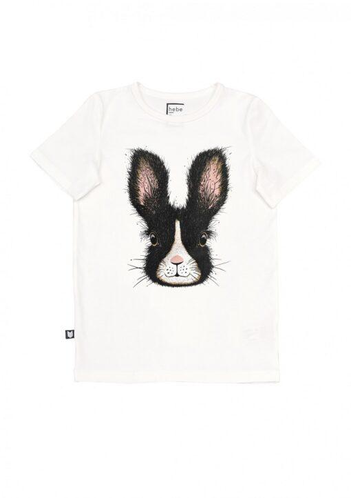 HEBE - shirt - black easter bunny - Eileen4Kids