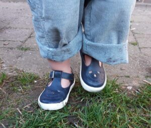 OLD SOLES - T-band kinderschoen - navy - Eileen4Kids