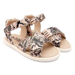 OLD SOLES - kinderschoen - sandaal - chique copper snake - Eileen4Kids