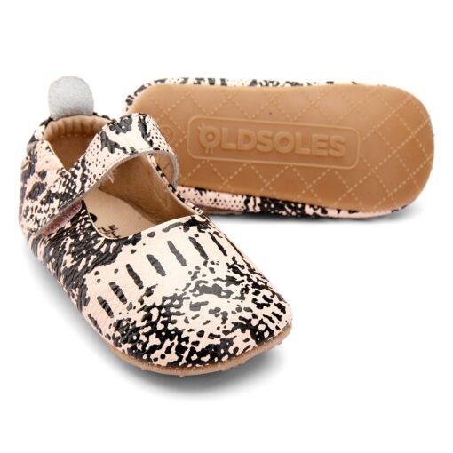OLD SOLES - kinderschoen - snake - copper - Eileen4Kids