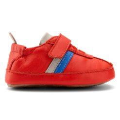 OLD SOLES - sneaker rework - red/gris/neon blue - Eileen4Kids