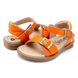 Old Soles - kinderschoen -Nevana Neon Orange sandaal - Eileen4Kids