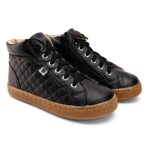 Old Soles - kinderschoen - plush sneaker - zwart - Eileen4Kids