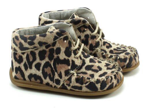 Bardossa - babyschoenen - Kimba - Leopardo beige - Eileen4Kids