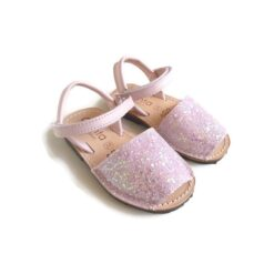 Cienta - kinderschoen - sandaal - glitter roze