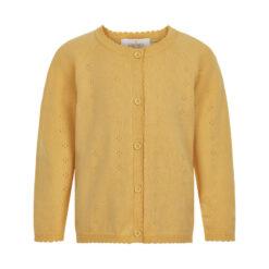 Creamie - meisjes vest pointelle - zacht geel - Eileen4Kids