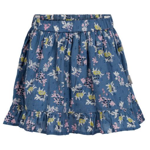 Creamie - rok - bloemen - blauw - Eileen4Kids