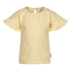 Creamie - meisjes t-shirt - gestreept - geel - Eileen4Kids