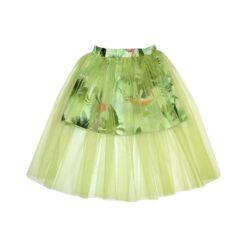 HEBE - rok - palmenprint - groen - Eileen4Kids