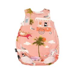 HEBE - romper - summer breeze - roze - Eileen4Kids