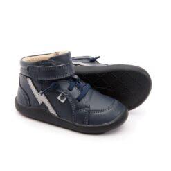 OLD SOLES - kinderschoen - hoge sneaker - light the ground - navy - Eileen4Kids