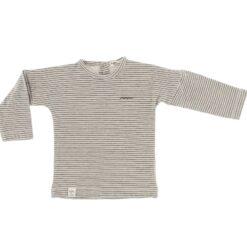 Riffle Amsterdam - shirt met lange mouwen - rib - grijs/groen