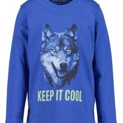 Blue Seven - jongens shirt - blauw - Eileen4Kids