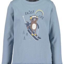 Blue Seven - jongens shirt - licht blauw - Eileen4Kids