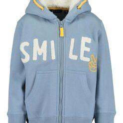 Blue Seven - jongens sweat jacket - licht blauw - Eileen4Kids