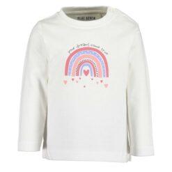 Blue Seven - meisjes shirt - wit - Eileen4Kids