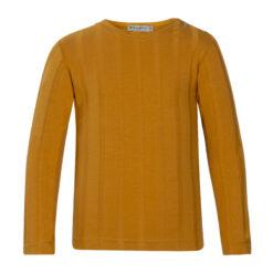 Kiezeltje - shirt - lange mouwen - oker - Eileen4Kids