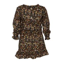 Kiezeltje jurk bruin - Eileen4Kids
