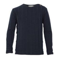 Kiezeltje effen shirt donker blauw - Eileen4Kids