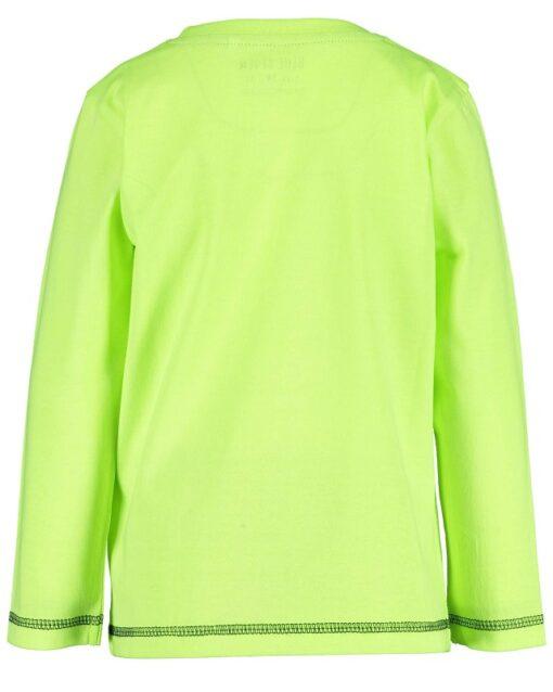Blue Seven - jongens sweatshirt - neon groen