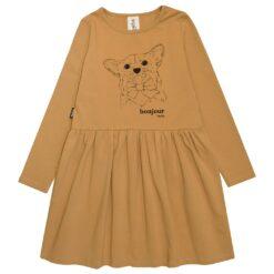 HEBE - jurk - mustard - Eileen4Kids