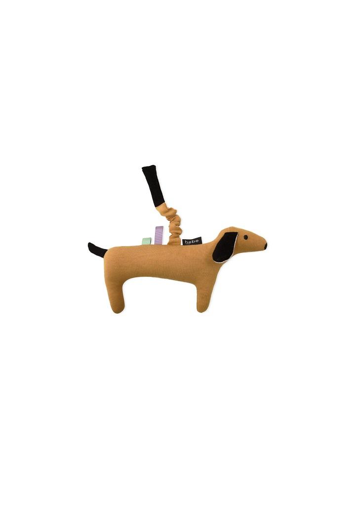 HEBE - knuffeldier - mustard - hond - Eileen4Kids