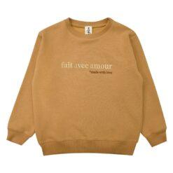HEBE - sweater - mustard - Eileen4Kids